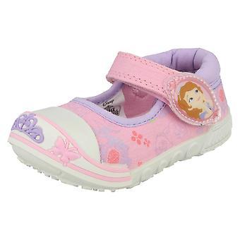 Girls Disney Canvas Shoes Sophia Dreams