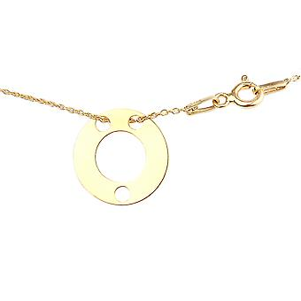 Women's Celebrity Layered Style Pendant Necklace Triple Open Circle