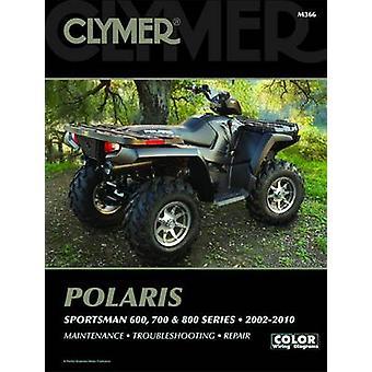 Clymer Polaris Sportsman 600 - 700 & 800 Series - 2002-2010 by Clymer