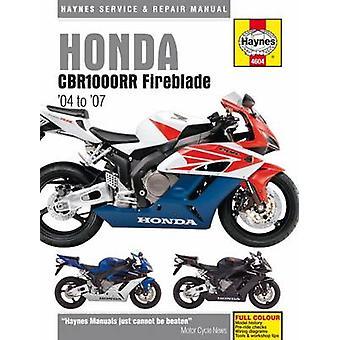 Honda CBR1000RR Fireblade Service and Repair Manual - 04-07 by Matthew