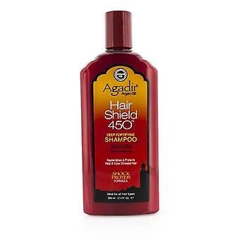 Agadir Argan Oil Hair Shield 450 Plus Deep Fortifying Shampoo - Sulfate Free (for All Hair Types) - 366ml/12.4oz