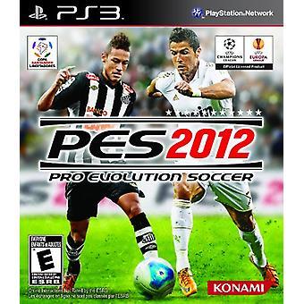 Pro Evolution Soccer 2012 spel-fabriek verzegeld