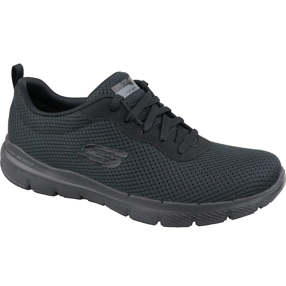 Skechers Flex Appeal 30 13070BBK universal all year women shoes 3iQJp