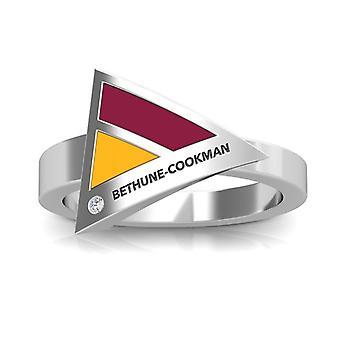 Bethune-Cookman University diamant ring i sterling sølv design af BIXLER