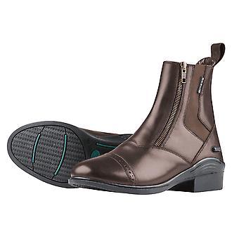 Dublin Evolution Double Zip Front Paddock Boots - Brown