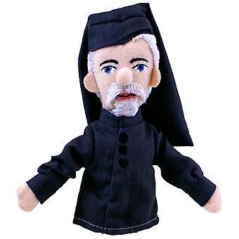 Finger Puppet - UPG - Geoffrey Chaucer Mini morbido peluche bambola nuovo 3918