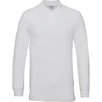 Gildan-Premium bomuld langærmet dobbelt Piqué Herre Polo skjorte