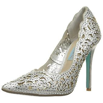 Betsey Johnson Womens SB-Elsa Fabric Pointed Toe Classic Pumps