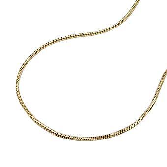 7 سلسلة ثعبان مم 14Kt الذهب، 0 عرافة 5، 45 سم
