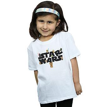 Star Wars Girls Kiddie Logo T-Shirt