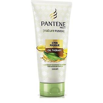 3 x 200ml Pantene Pro-V natuur Fusion 2 Min Masque - olie therapie