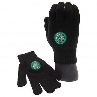 Celtic Knitted Gloves Yths