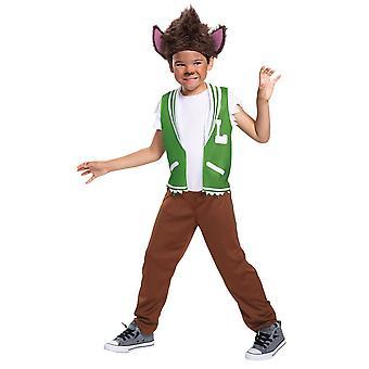 Boys Lobo Howler Costume - Super Monsters