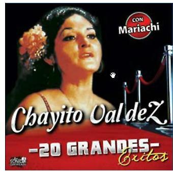 Chayito Valdez-20 grandes exitos [CD] EUA importação