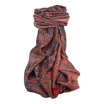 メンズジャマワル プレミアム シルク スカーフ パターン 4289 バイ パシュミナ & シルク