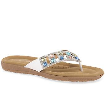 Lunar Abigail Womens teen Post sandalen
