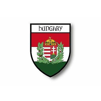 Tarra tarra tarra moottori pyörä auton Blason kaupunki Unkarin lippu Unkarin R2