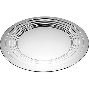 Alessi Le Cerchie tray 48 cm stainless steel table centerpiece - MDL03