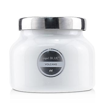 Capri Blue White Jar Candle  - Volcano - 226g/8oz