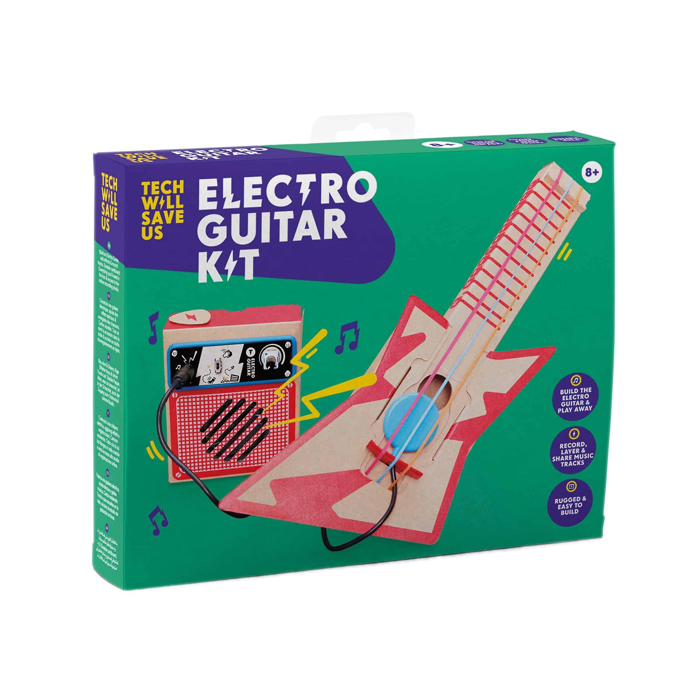 Tech Will Save Us Electro Guitar Kit | Educational Music Toy, Ages 8 and up