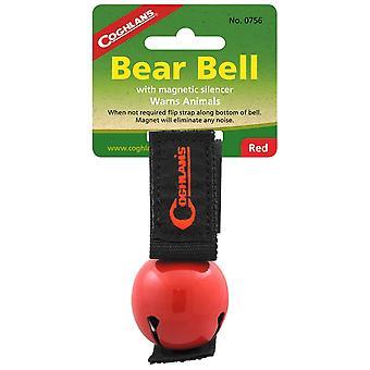 Campana de oso magnético rojo coghlans
