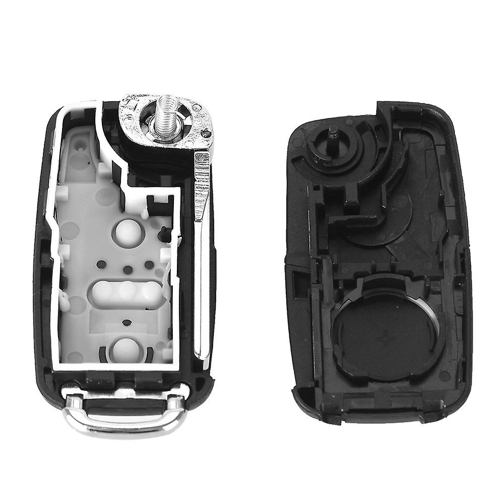 2-button car key replacement Volkswagen VW with blade
