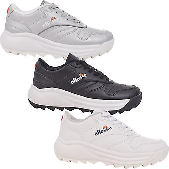 Ellesse Womens Ada Chunky Retro Casual Lace Up Trainers Sneakers Shoes