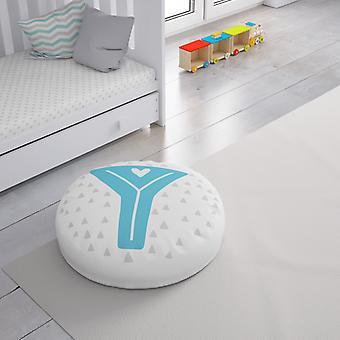 Meesoz Floor Cushion - Letter Boy - Y