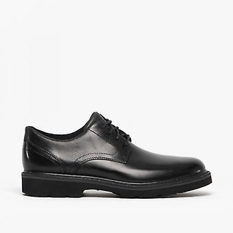 Rockport Charlee Mens Leather Waterproof Derby Shoes Black