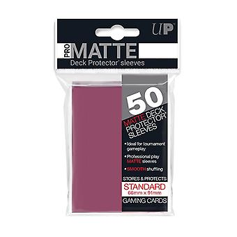 Pro-Matte D12 Card Game Blackberry 50 Sleeves (Pack of 12)