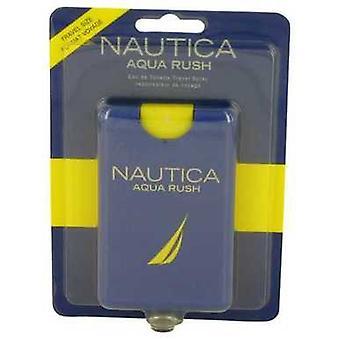 Nautica Aqua Rush By Nautica Eau De Toilette Travel Spray .67 Oz (men) V728-536886