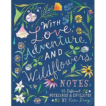With Love Adventure and Wildflowers Notes by Katie Daisy