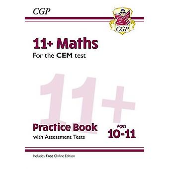 New 11 CEM Maths Practice Book  Assessment Tests  Ages 10