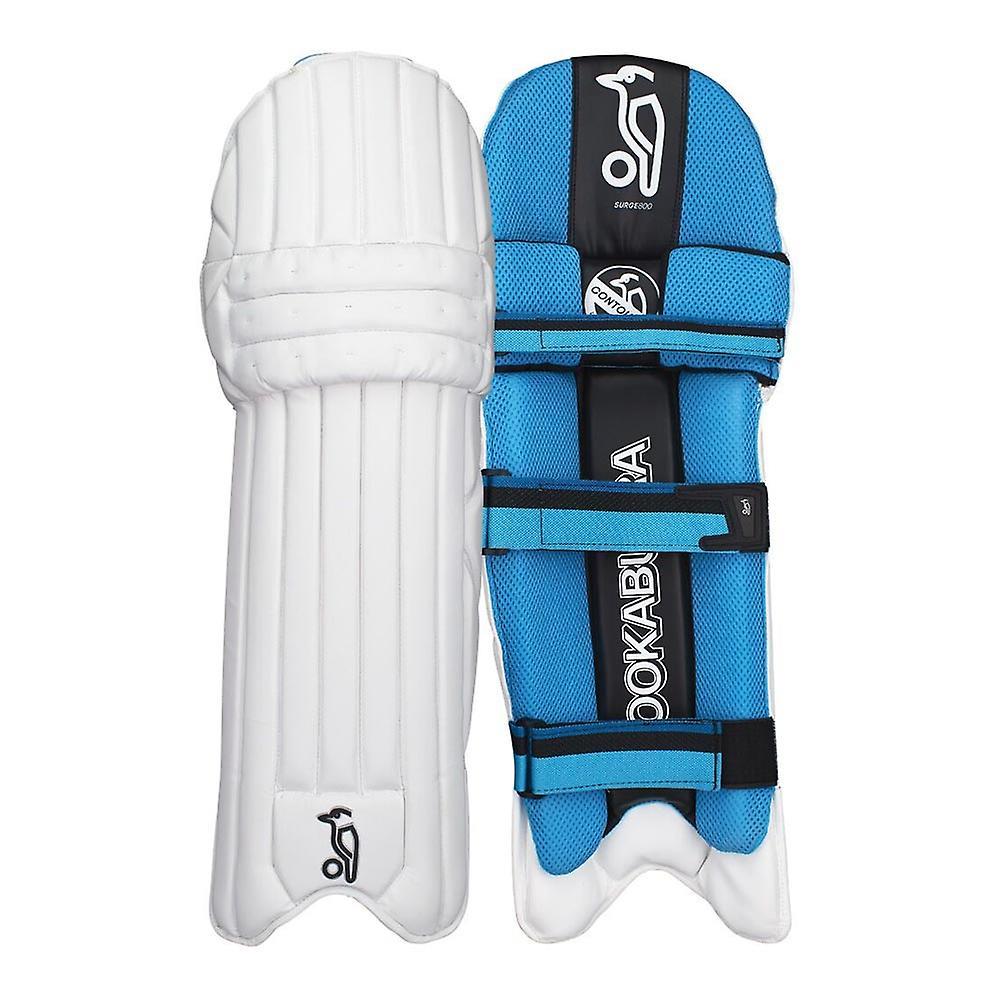 Kookaburra 2018 Surge 800 Cricket Batting Pads Leg Guards White/Blue