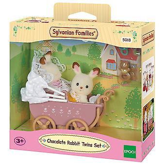 Sylvanian Families - Chocolate Rabbit Twins Set Toy