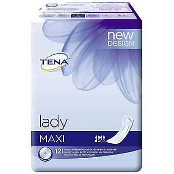 Tena Lady Maxi Compresses 12 uds
