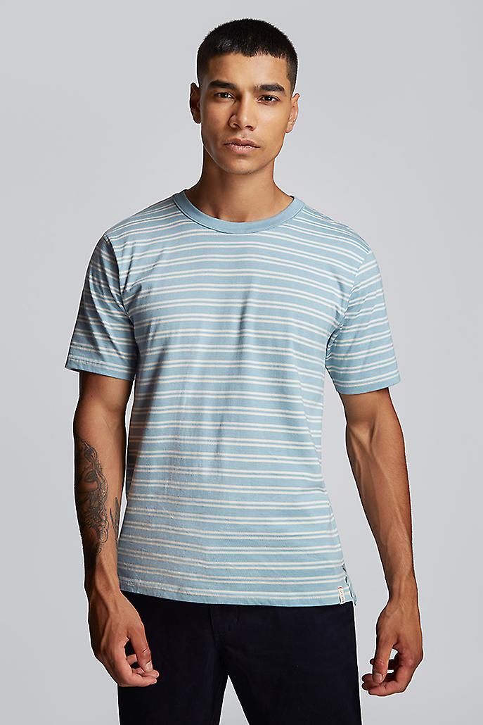 Hymn Fastlane Stripe Mens Shirt Blue