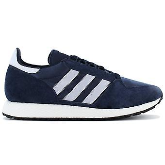 Adidas Originals Forest grove D96630 sko blå sneaker sport sko
