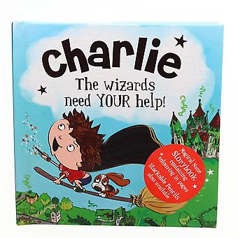 History & Heraldry Magical Name Storybook - Charlie