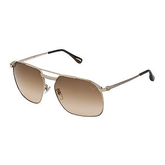 Dunhill SDH140 0300 Rose Gold/Brown Gradient Sunglasses