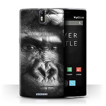 STUFF4 Pokrywę dla zwierząt w ogrodach zoologicznych OnePlus jeden/goryl/małpa/Mono
