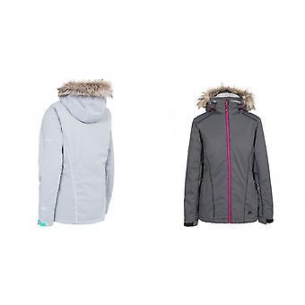 Trespass Damen/Damen Caitly mit Kapuze Touch Befestigung Ski-Jacke