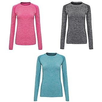 TriDri Womens/Ladies Seamless 3D Fit Multi Sport Performance Long Sleeve Top