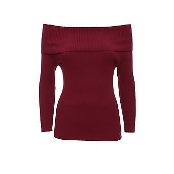Twin-set 192tp309103896 Women's Burgundy Viscose Sweater