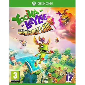 Yooka-Laylee og det umulige Lair Xbox One-spil