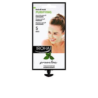 Iroha Peel-off masker zuiveren van groene thee 5 gebruikt voor vrouwen