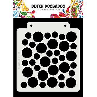 Hollantilainen Doobadoo Hollantilainen naamio Taide Suuri ympyrä 163x148 470.715.147