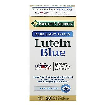 Nature's bounty lutein blue, softgels, 30 ea Nature 's bounty lutein blue, softgels, 30 ea