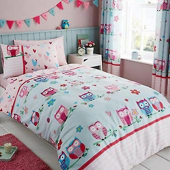 Owl Childrens Single Duvet Cover