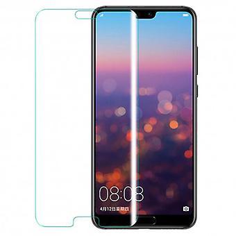 iCoverCase | Huawei P20 | 2-Pack Bildschirmschutz | Gehärtetes Glas